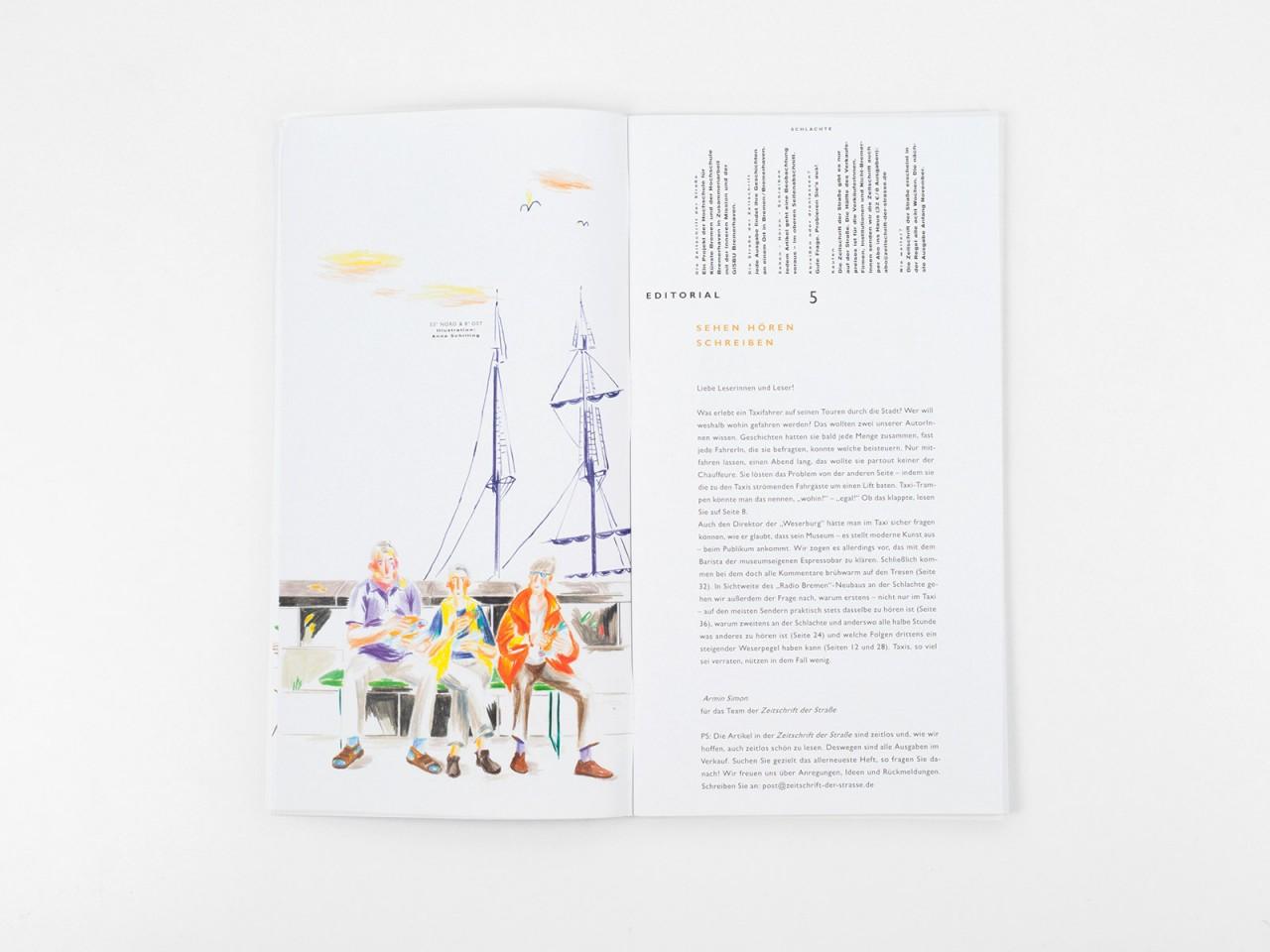 hellllo Zeitschrift der Straße
